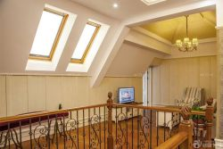 奢華歐式別墅天窗裝修樣板大全