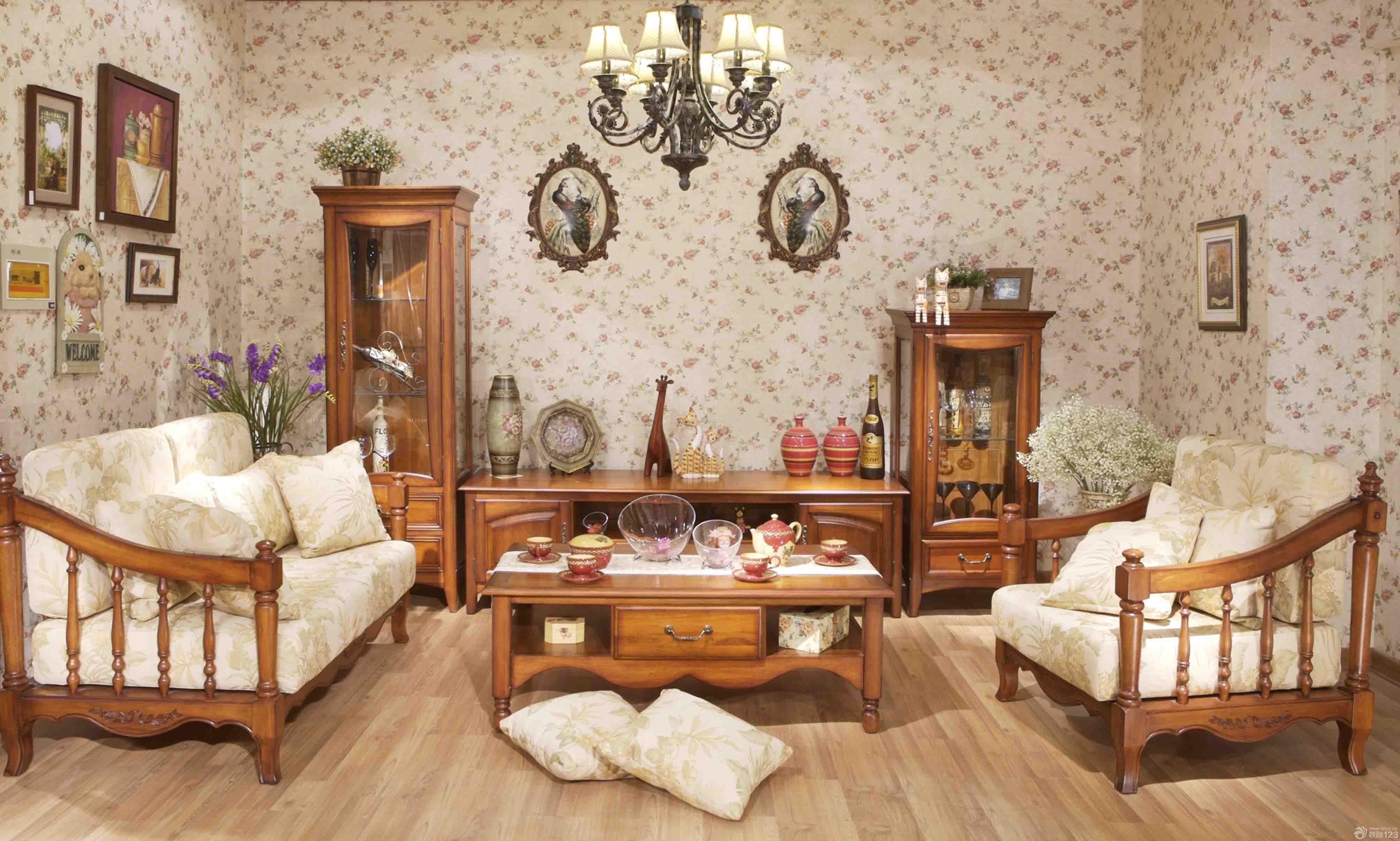 最新家装客厅英式家具设计图片大全图片