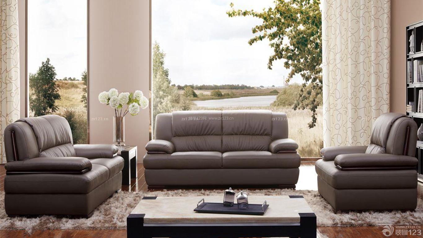 美式顾家沙发装修效果图
