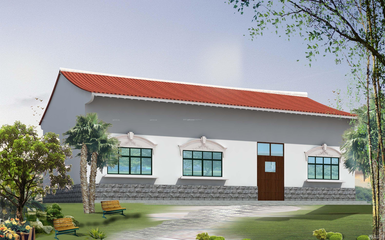 农村房子外观效果图 房屋外观设计效果图农村最新
