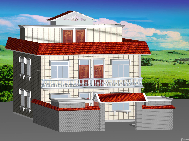农家房屋外观设计图展示