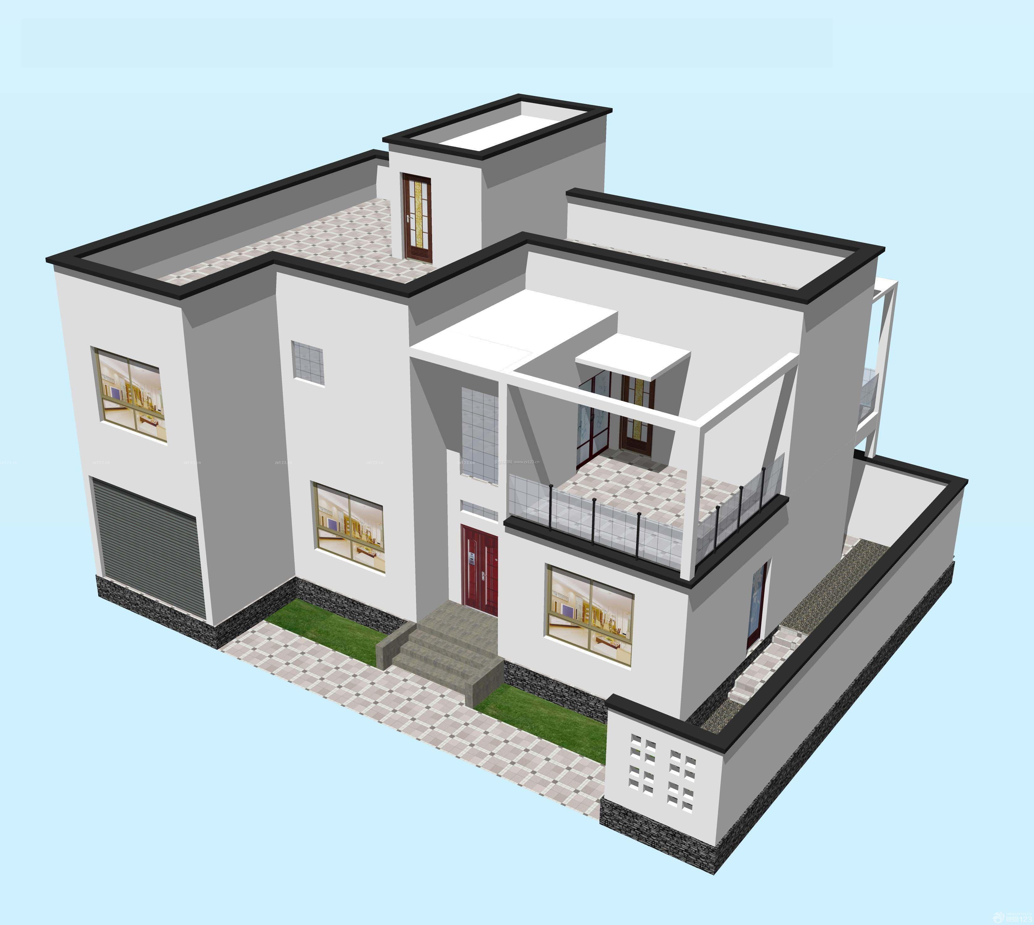 农村房子室内格局设计图展示