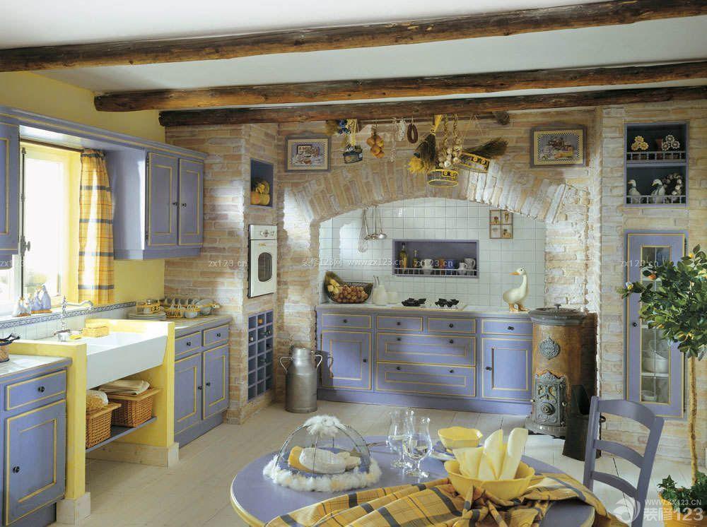 中小户型开放式厨房设计图