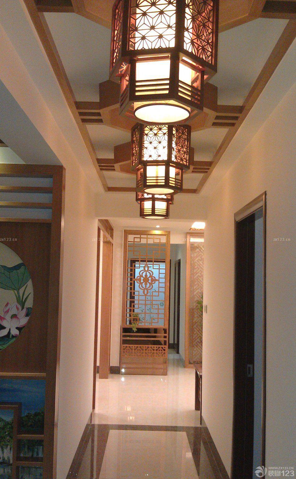 家装过道吊顶灯设计效果图片