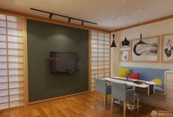 日本小戶型公寓餐廳設計圖