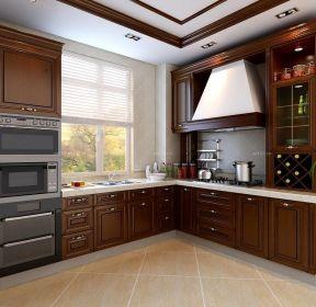 家庭廚房歐派整體櫥柜設計圖-每日推薦