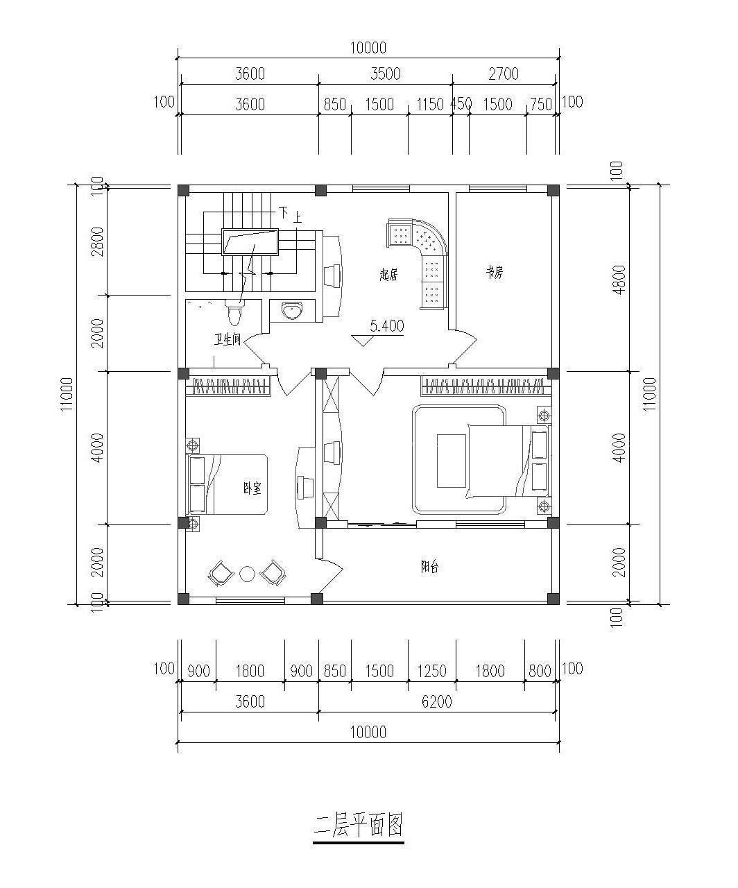 两层新农村房屋设计图片