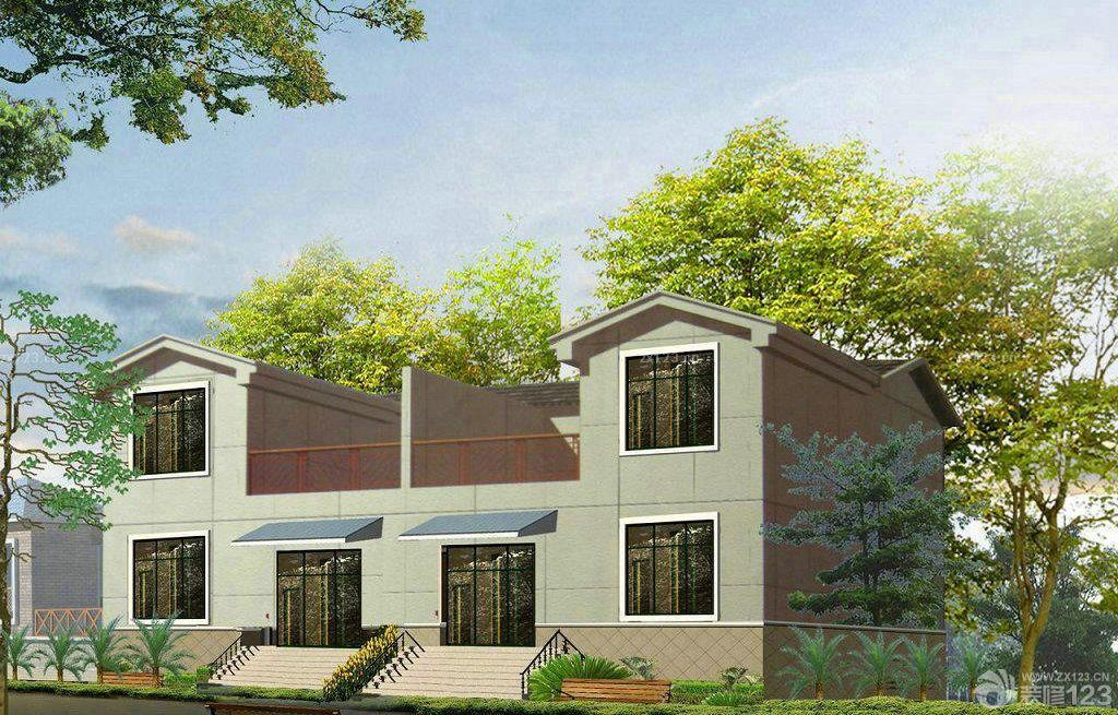 两层新农村房屋设计图