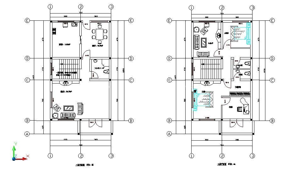 145平新农村房屋设计图