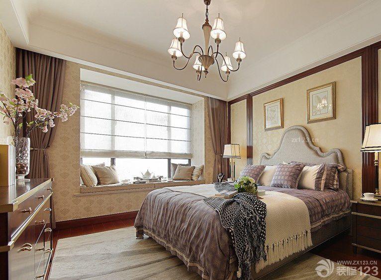房屋主卧室窗台板设计效果图