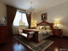 實木床  歐式古典家具