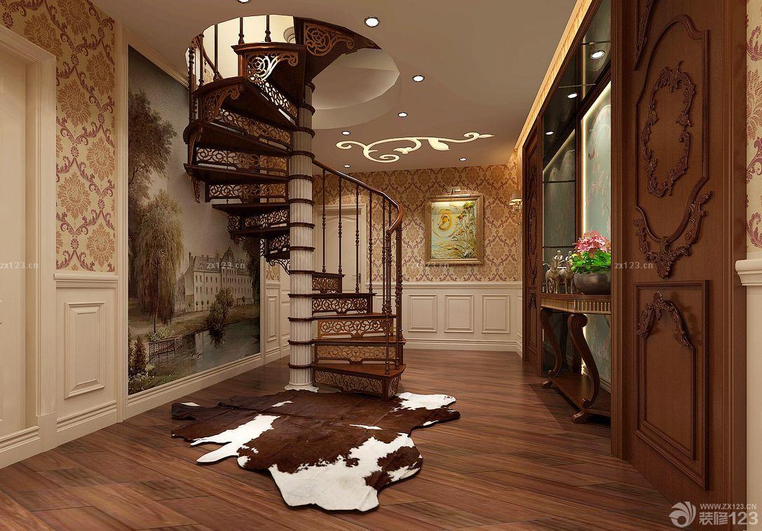 欧式风格假复式楼装修效果图