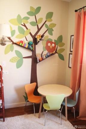 客厅墙体彩绘