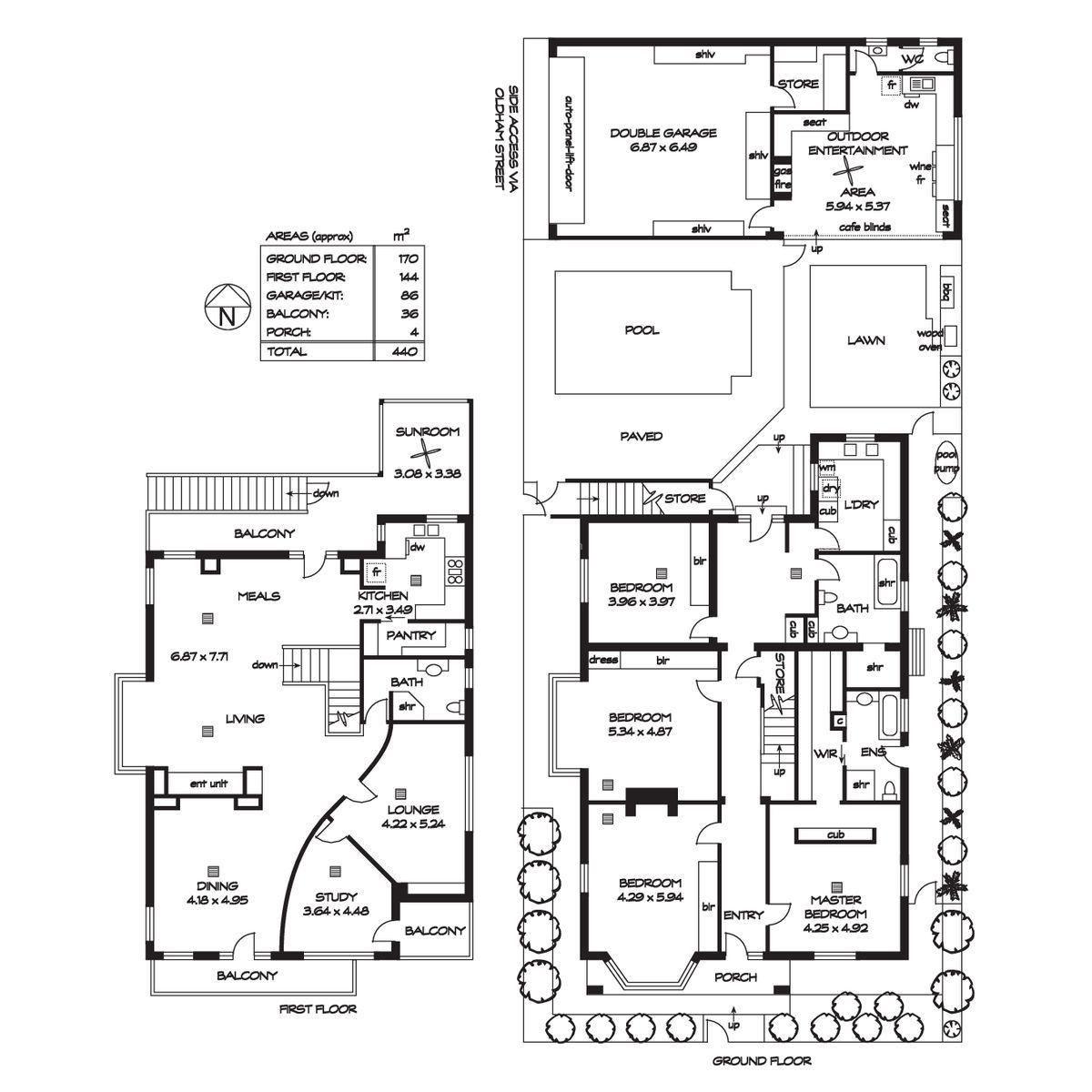 总统套房平面设计图