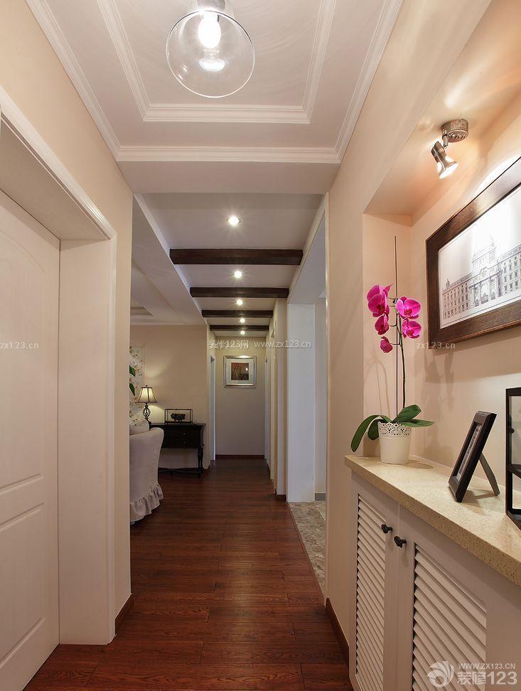 家装效果图 吊顶 小户型过道吊顶造型效果图 提供者