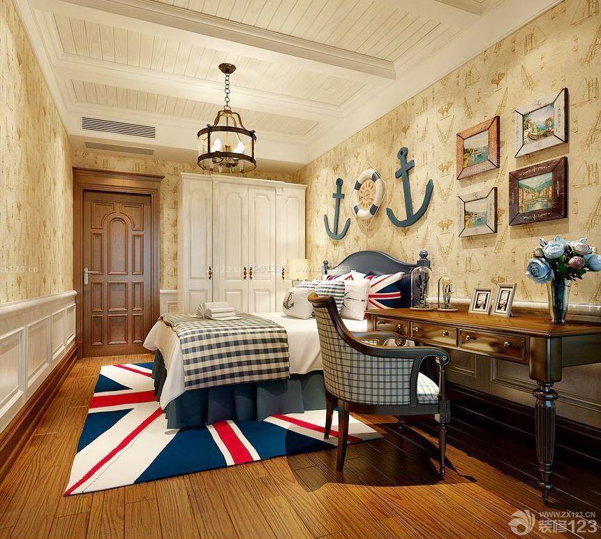 30平米小户型公寓单人卧室设计图