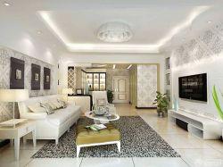 120平方房子設計圖創意家居燈飾設計