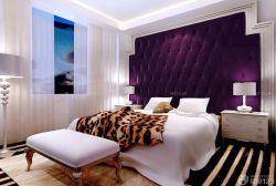 大型酒店客房布藝軟包墻面設計圖
