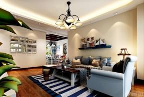 80平房子裝修設計圖 客廳設計