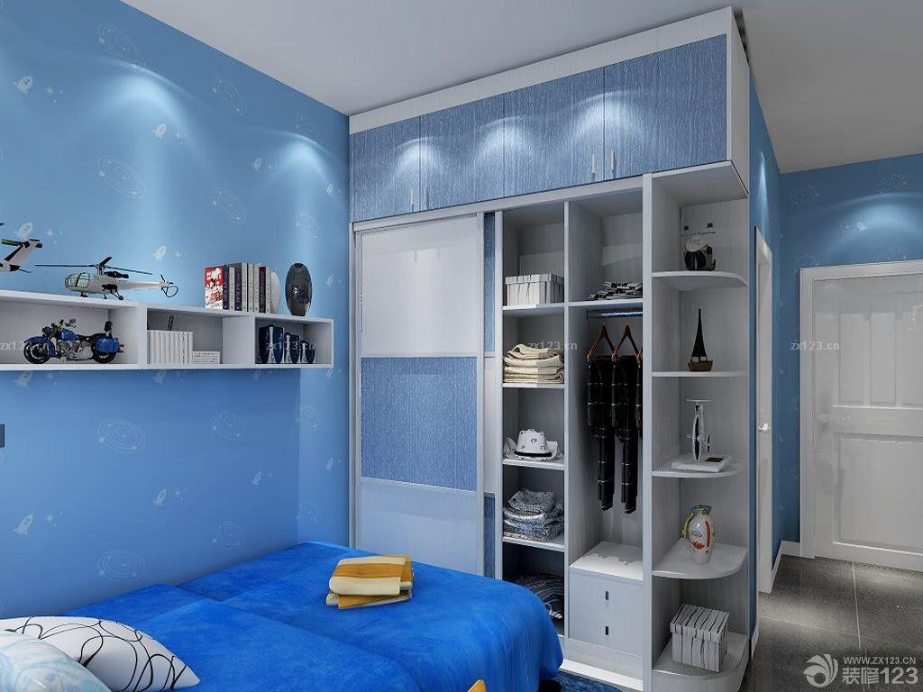 2015最新卧室衣柜格局装修图片