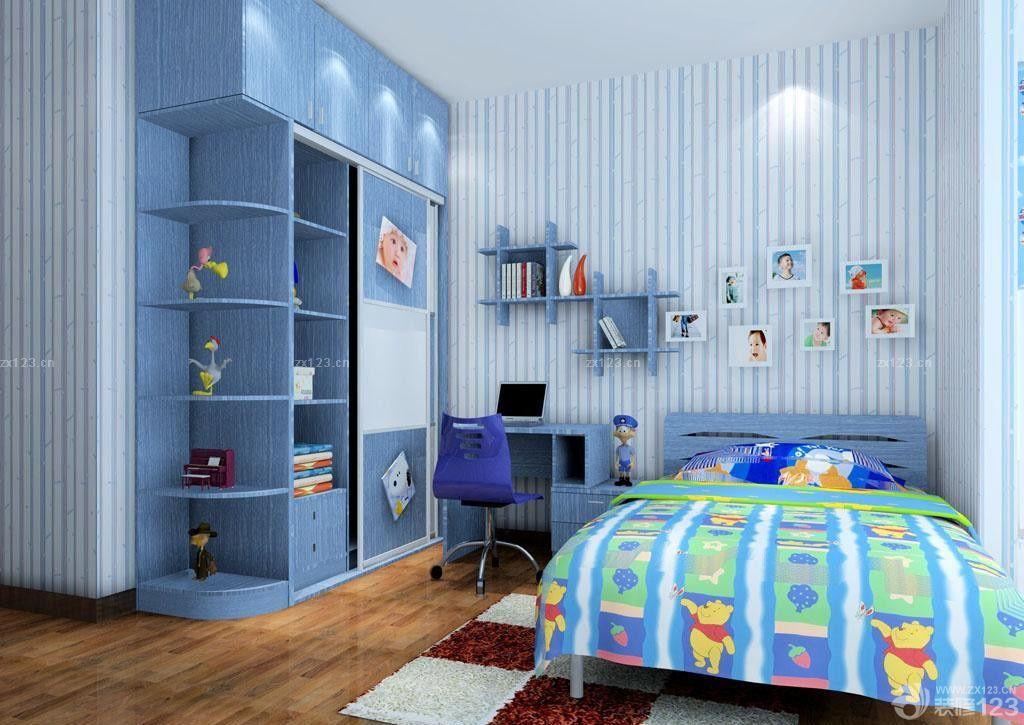 最新卧室衣柜格局设计图片