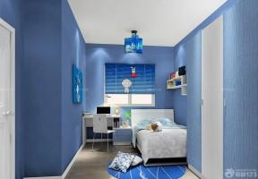 彩色墻面 小臥室