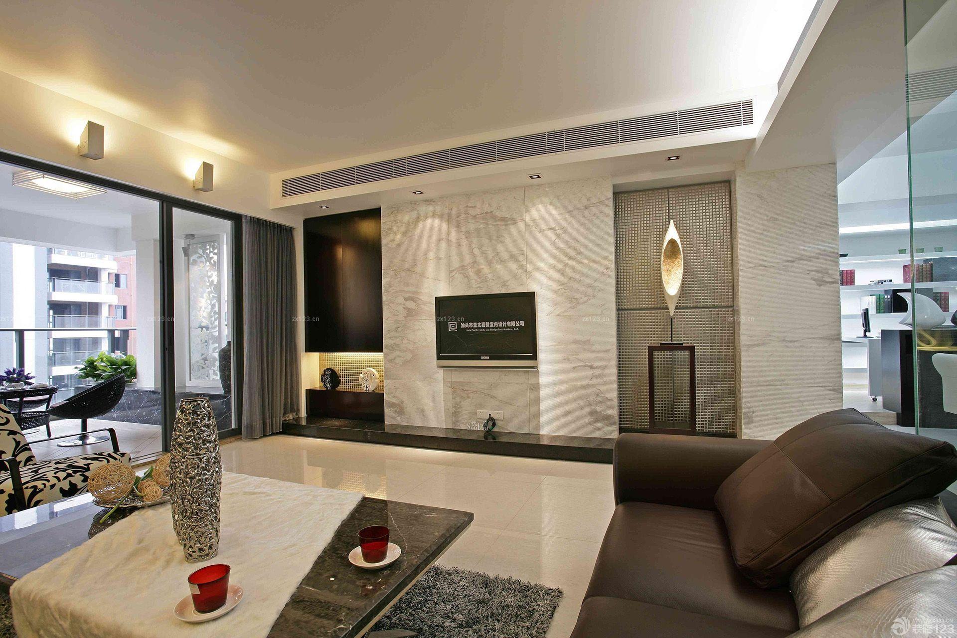 中式家装大理石地板砖设计效果图