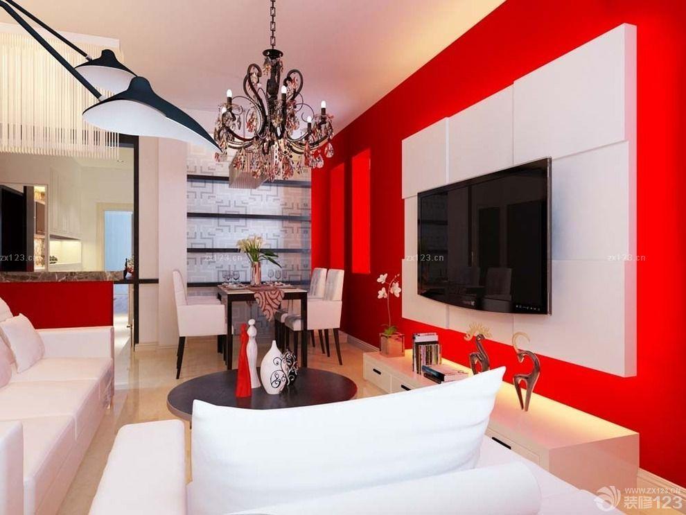 2015欧式家庭装修仿古红砖墙装修效果图