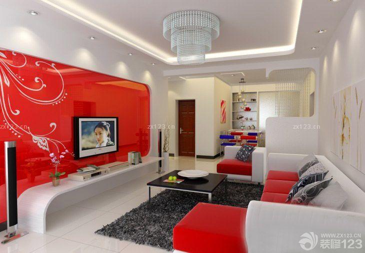 欧式家庭装修仿古红砖墙装修设计图