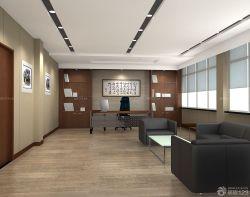 簡裝現代風格經理辦公室設計
