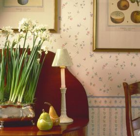 簡約復古碎花壁紙-每日推薦