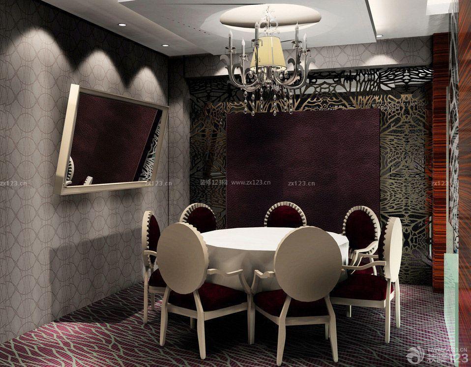 中型饭店包间装修效果图欣赏