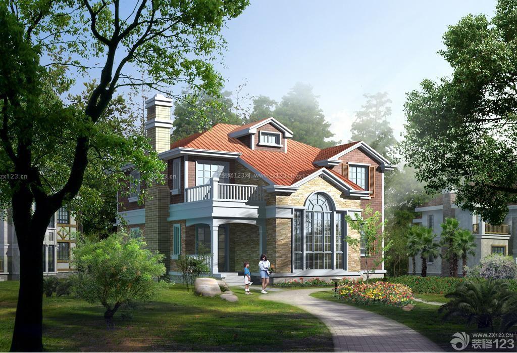欧式乡村别墅外观设计