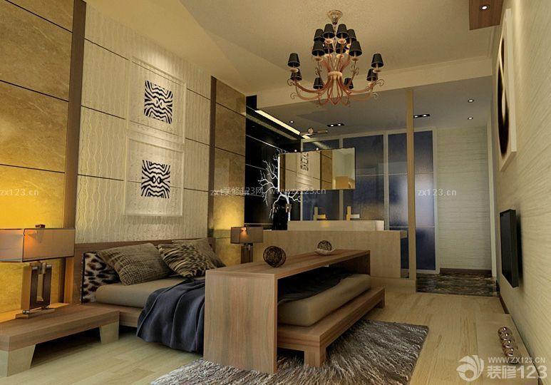 30平日本小户型卧室装修设计图图片