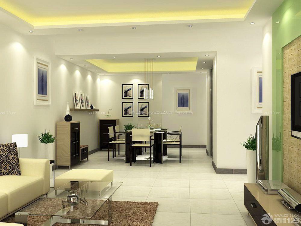 现代简约风格交换空间小户型家装设计图欣赏_装修123