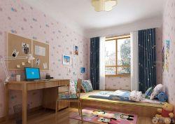 美式兒童房榻榻米床設計圖