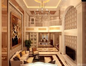小復式 挑高客廳