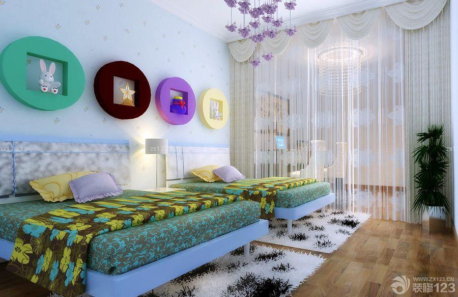 小户型儿童房实木家具设计图片