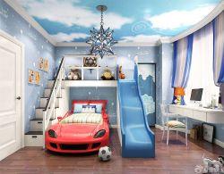 美式兒童房壁紙裝飾圖