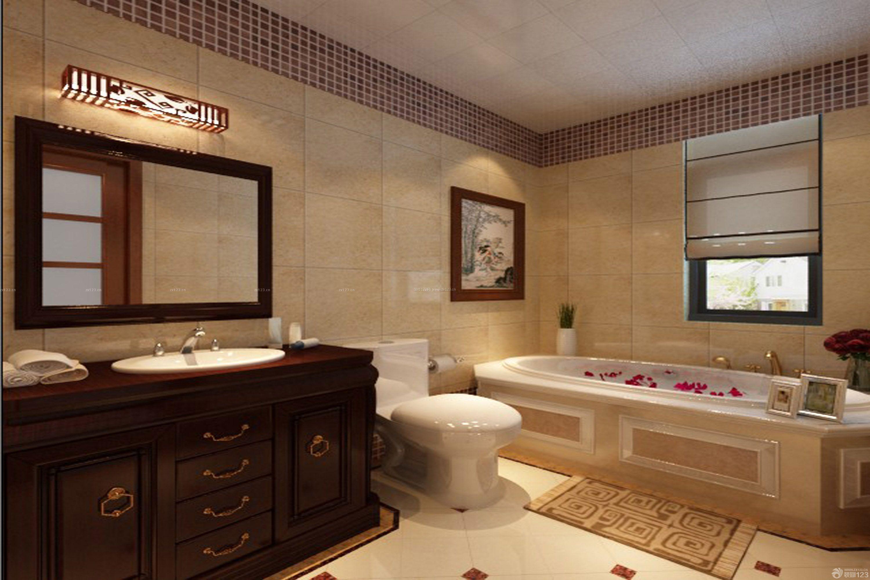 欧式新古典风格整体浴室装修效果图