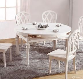 實木折疊餐桌 家裝樣板房
