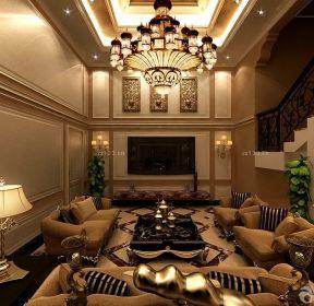復式樓挑高客廳裝修案例-每日推薦