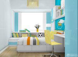 10平米兒童房榻榻米床設計案例