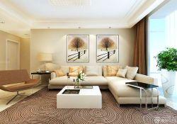 一室一廳客廳照片墻裝修樣板房