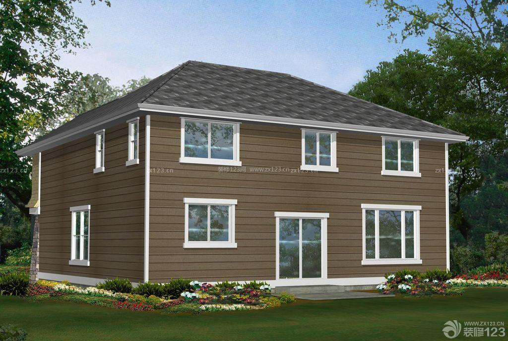整体木屋农村房屋设计图片大全图片