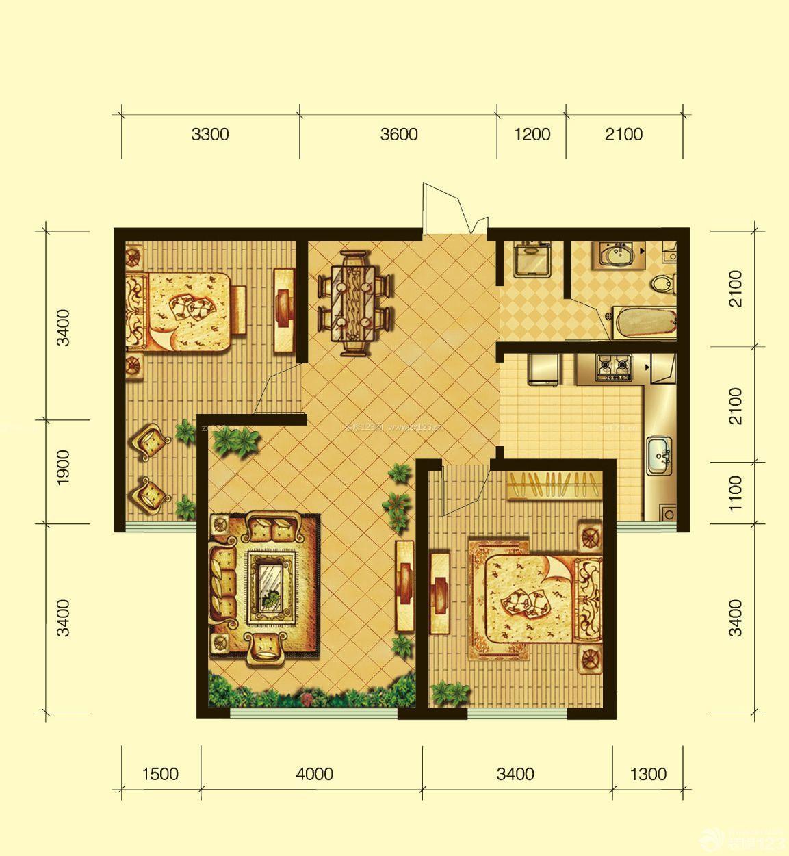农村80平方房屋设计图