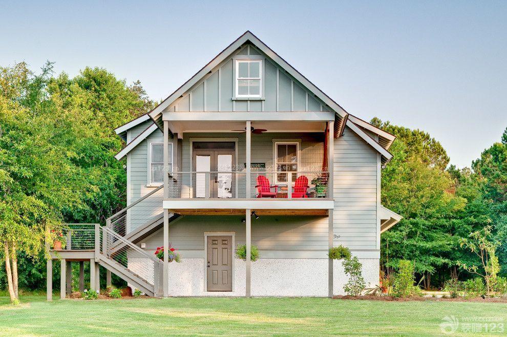 两层漂亮农村房子设计图片大全