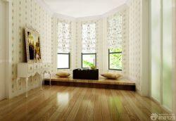 休閑區小花窗簾裝飾圖片