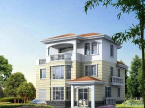 農村房屋設計圖片大全 農村三層房屋設計圖