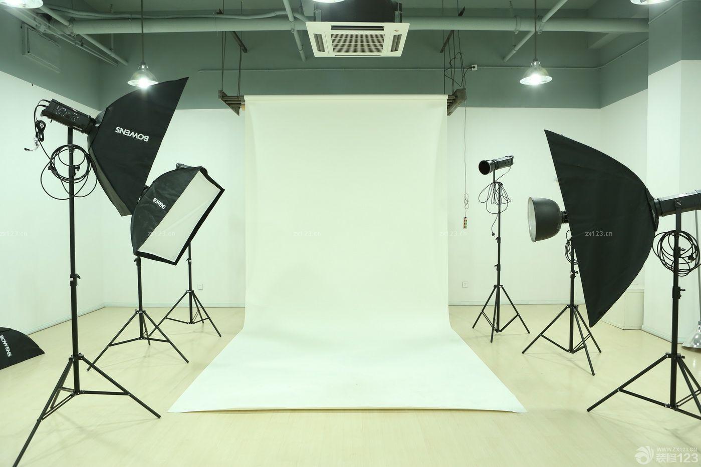 摄影棚背景墙装饰效果图片